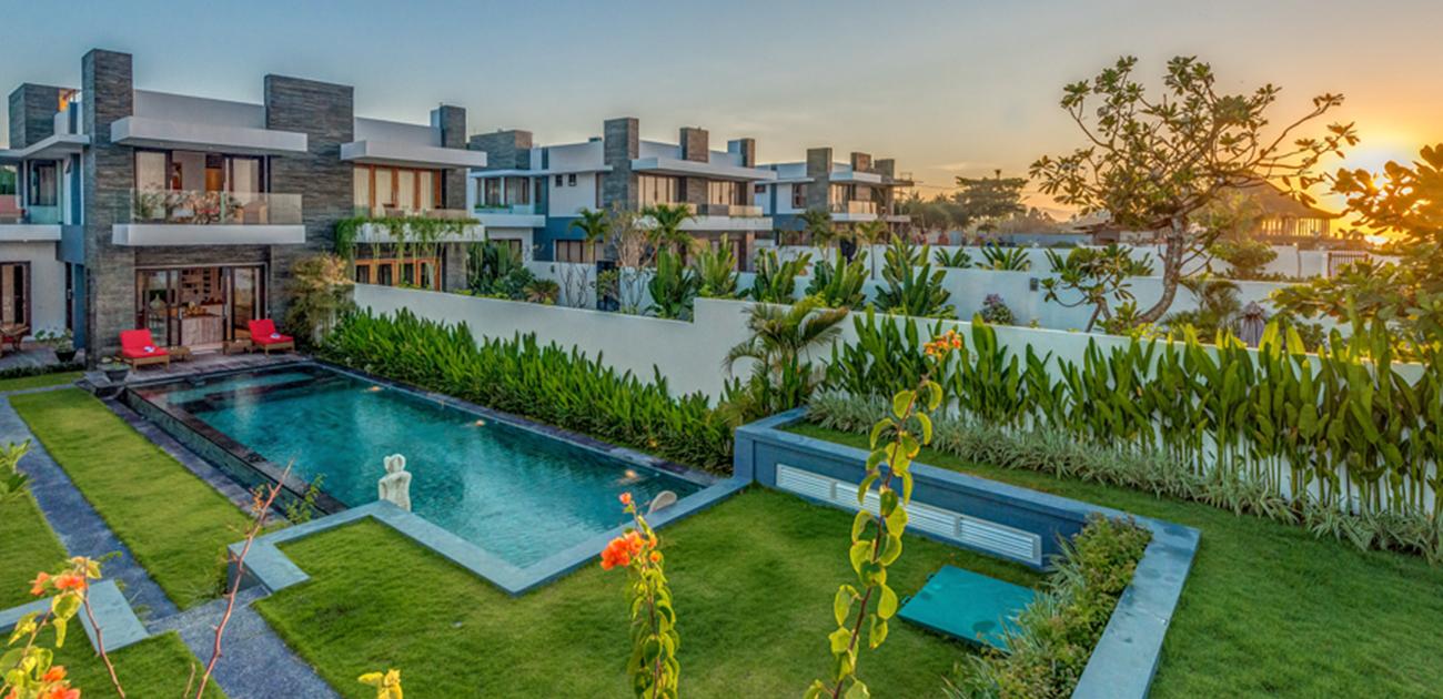 Beachfront Villa at Pantai Keramas, Gianyar