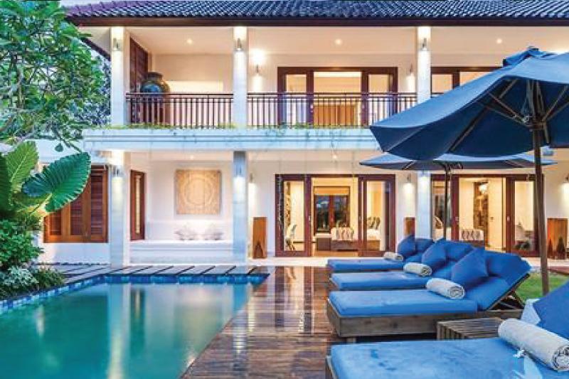 Stylish four bedroom freehold villa in Seminyak