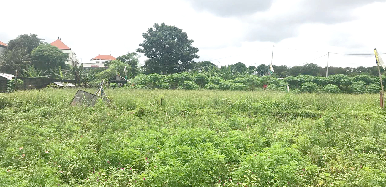 Prime 980m2 of Land in Sanur 150m from the Beach