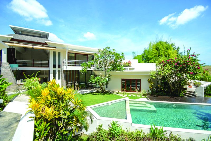 Padi View Four Bedroom Villa at Pererenan