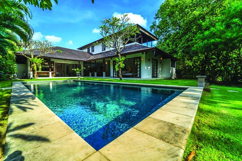Big Garden Villa in Padang Linjong Canggu