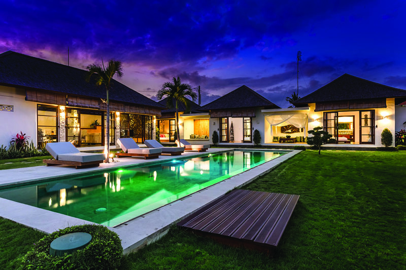 Georgeous Three Bedroom Villa for Living in Canggu