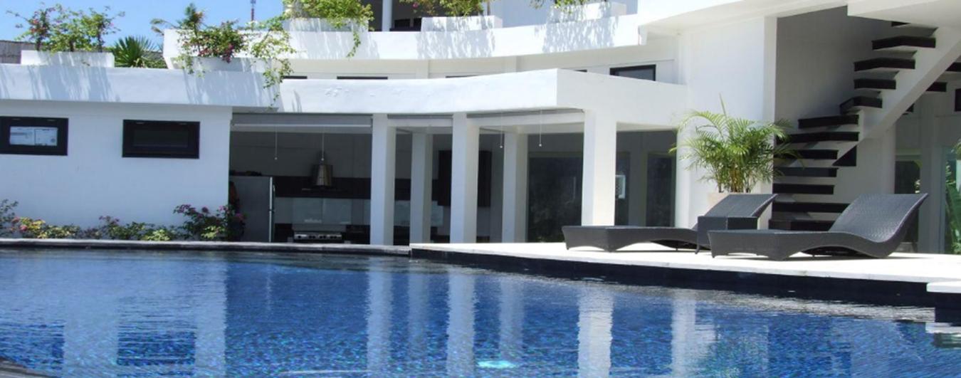 Contemporary Ocean View Villa with Panoramic Vista