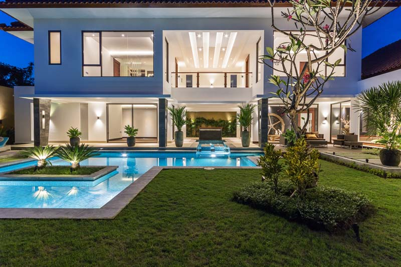 Luxury Living Among Rice Fields