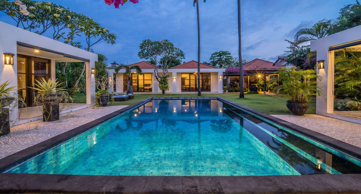 Generous family home in Sanur