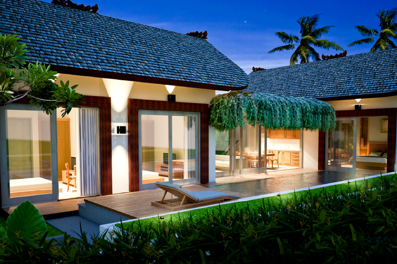 Invest in Ubud Wellness Retreat Villa 102, Phase 1 Of 3