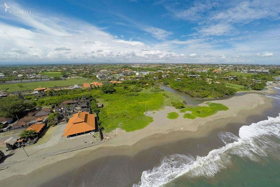 Prime Beachfront Land in Canggu
