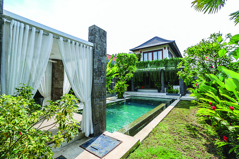 Modern 2 Level Freehold Villa in Kerobokan (Minimum 2 Years Rental)