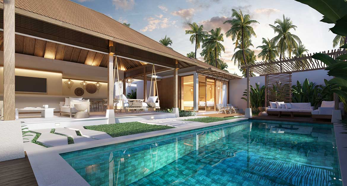 Gili T Resort, 2 bedroom Villa with Guaranteed ROI for 5 Years