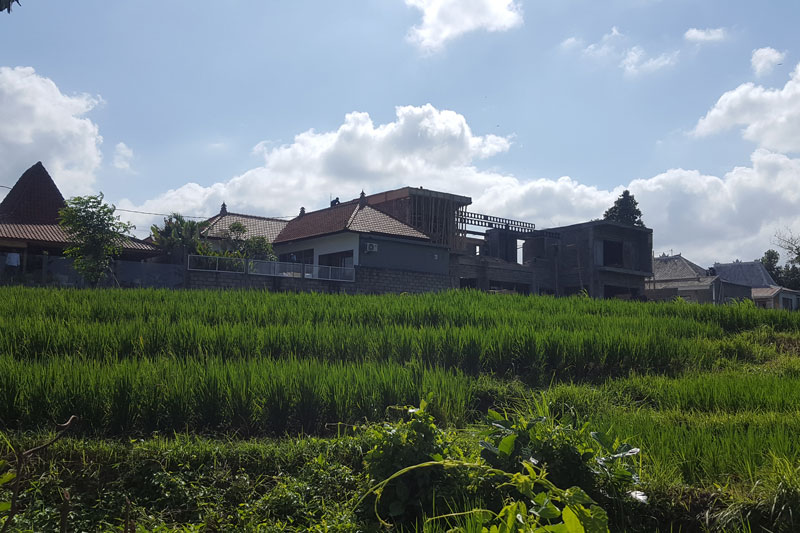Sloping Leasehold Land in Pererenan
