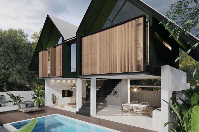 Modern High-End 2-Bedroom Villa in Jimbaran Hill